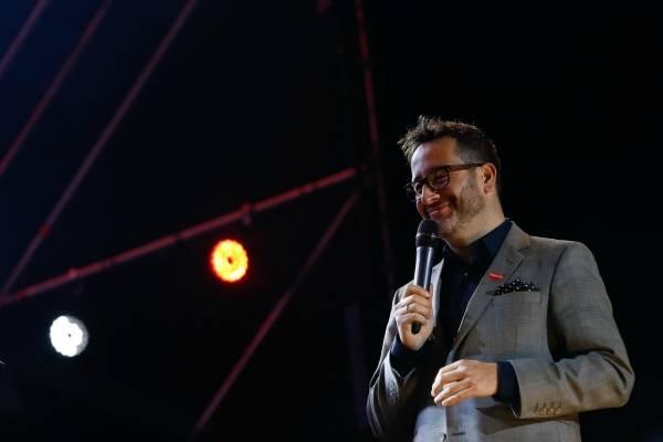 Eduardo Fuentes en la gira Teletón cuarta noche en Valdivia
