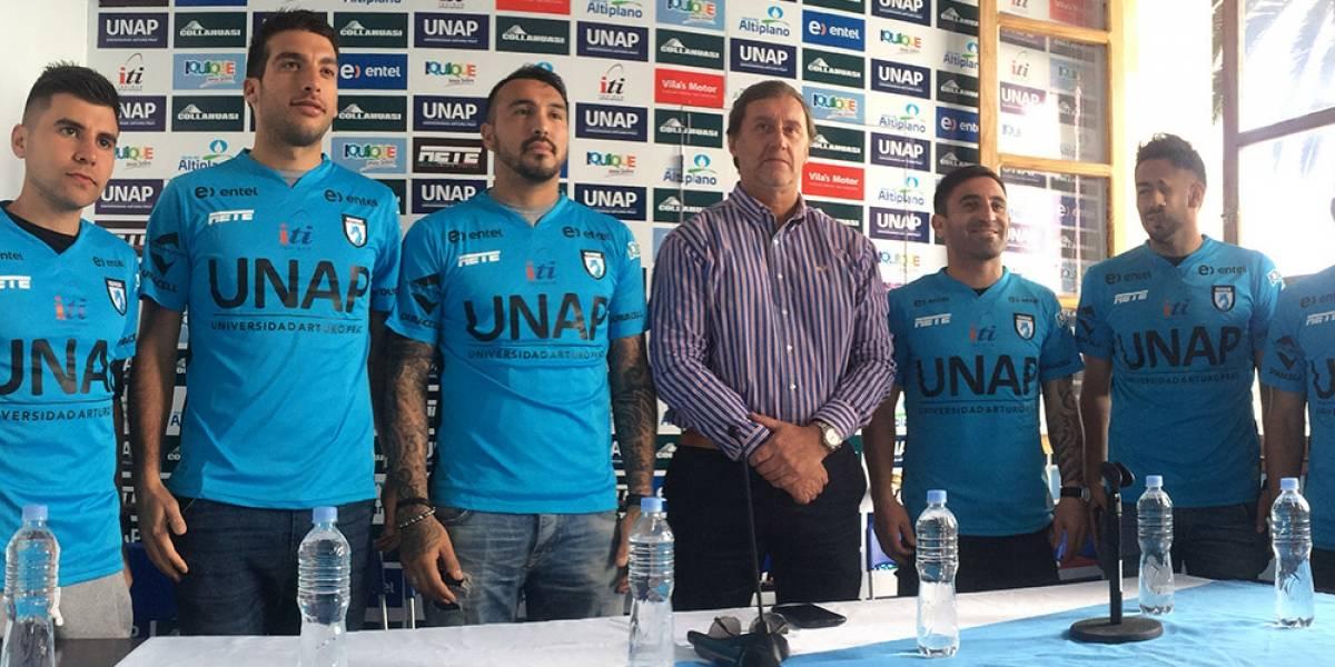 Iquique presentó a sus seis nuevas cara para la próxima temporada