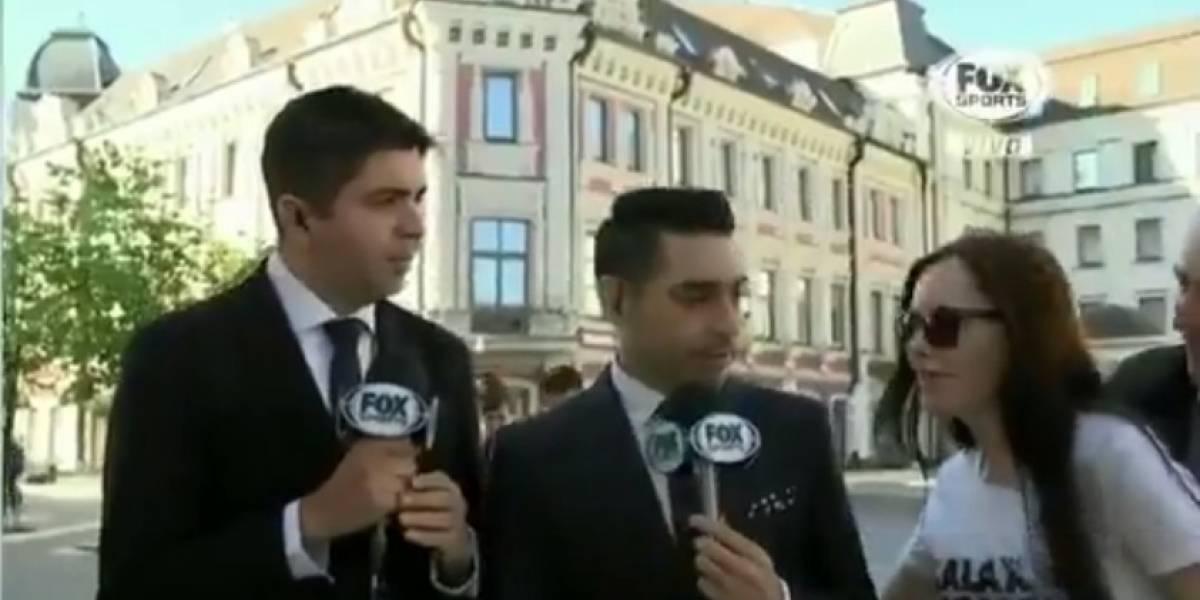 VIDEO: Rusa seduce a reportero mexicano en pleno programa en vivo
