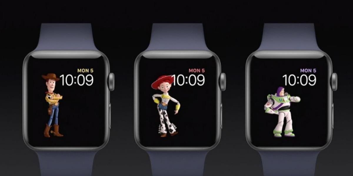 Siri y Toy Story estrenan carátulas en watchOS 4