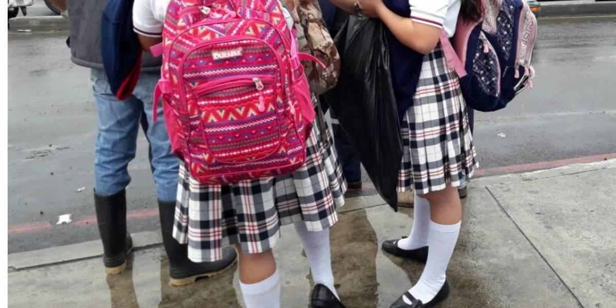 Detienen a hombre por acoso sexual frente a estudiantes en Villa Nueva