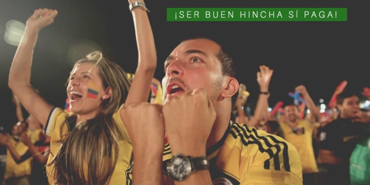 ¡Lo bonito del fútbol! Los hinchas en Colombia serán premiados por su amor al equipo del alma