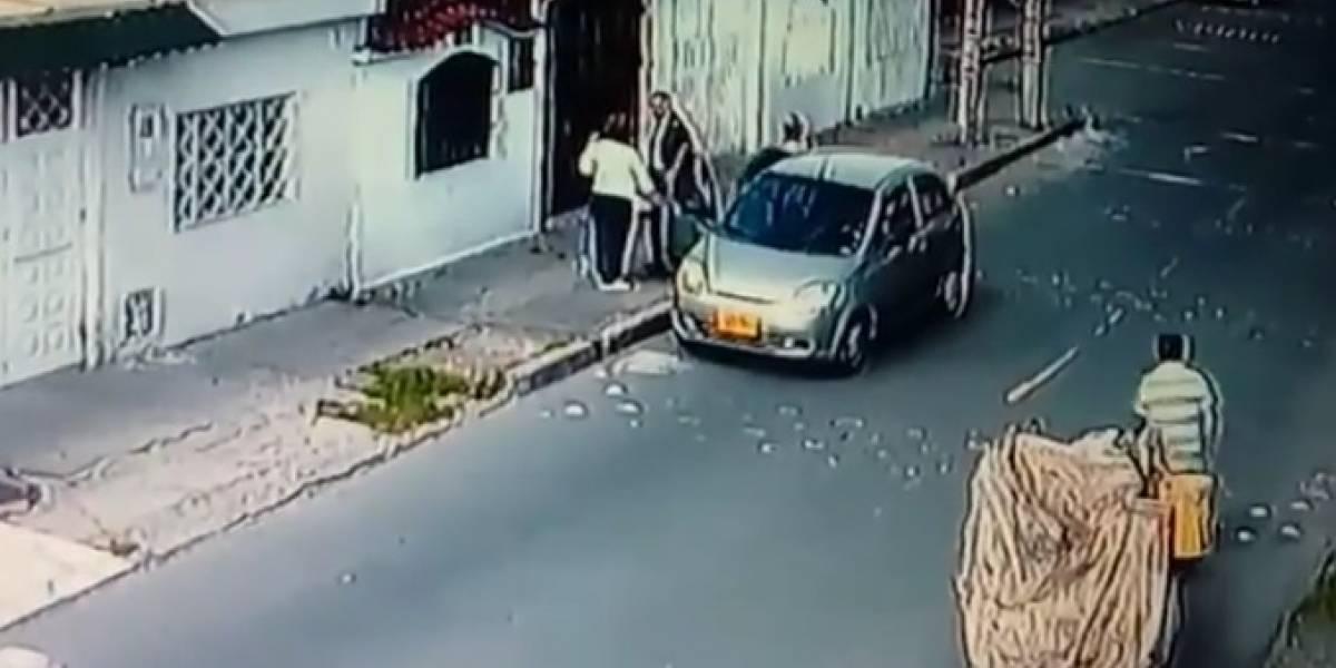 Mujer denunció con videos que había sido víctima de robo y no le creen