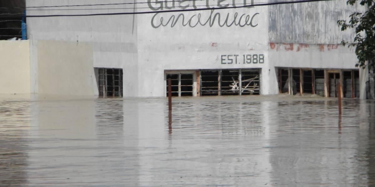 """""""Inundaciones relámpago"""", una de las principales problemáticas en Nuevo León"""