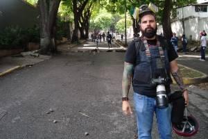 Las protestas en Venezuela, desde la lente de Isaac Paniza