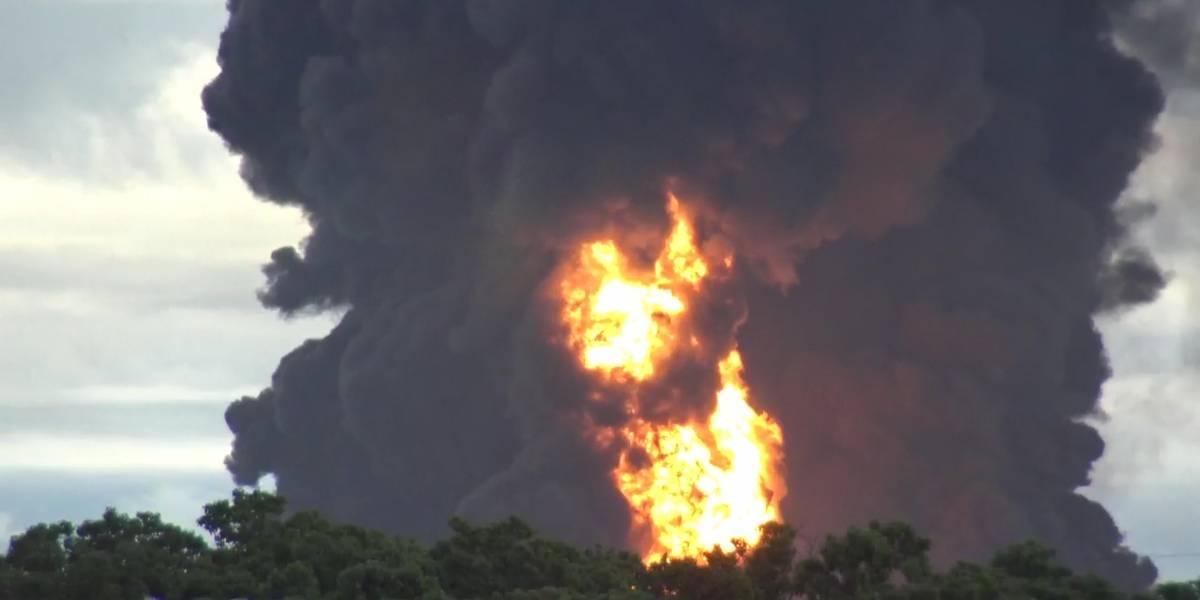 Pemex confirma fallecimiento de trabajador por incendio en refinería de Salina Cruz
