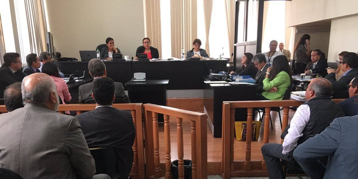 Empieza juicio por el caso IGSS-Pisa e IGSS-Chiquimula