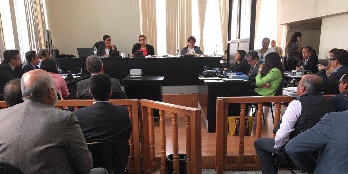 Tribunal reanuda el juicio del caso IGSS-Pisa