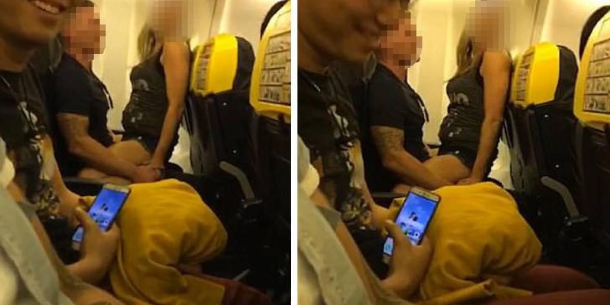 Rompe el silencio mujer que protagonizó escándalo sexual en avión de Ryanair