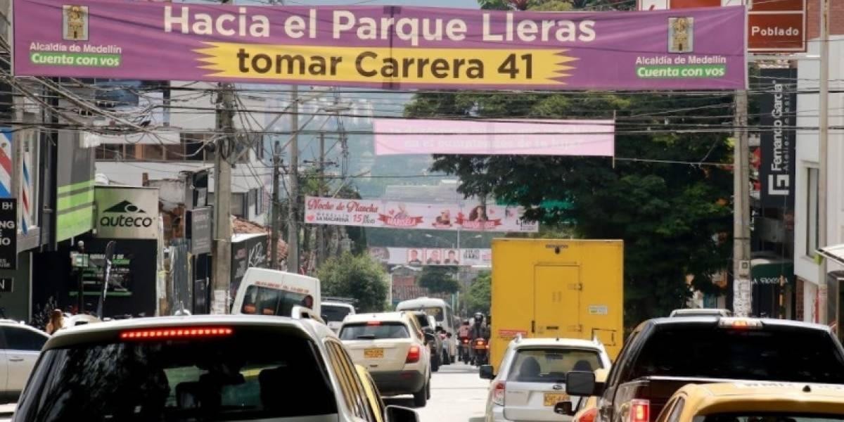 La contaminación visual en las vías principales de Medellín requiere atención