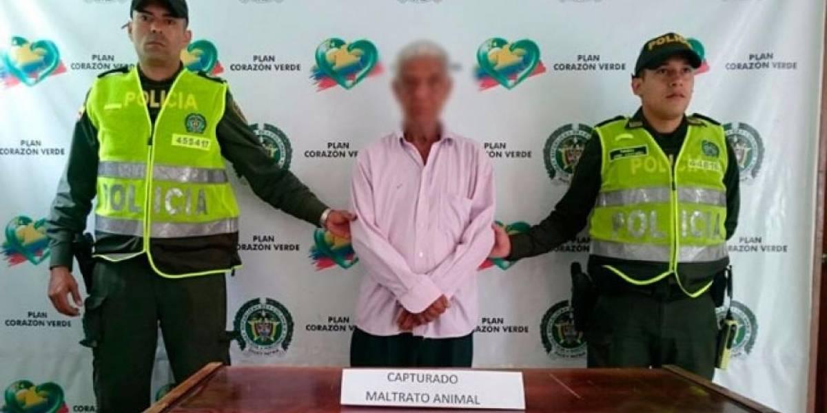 Capturan hombre de 64 años que tenía actos sexuales con un perro