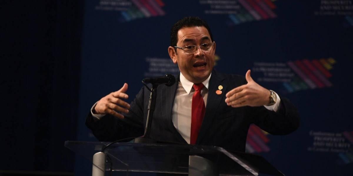 #CentAm2017: Puntos destacados por el presidente Jimmy Morales en reunión en EE. UU.