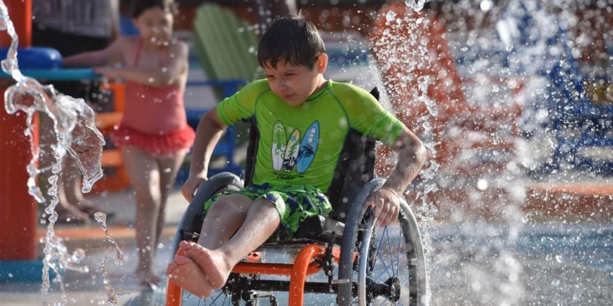 FOTOS: Así es el primer parque acuático 100% accesible para personas con discapacidad