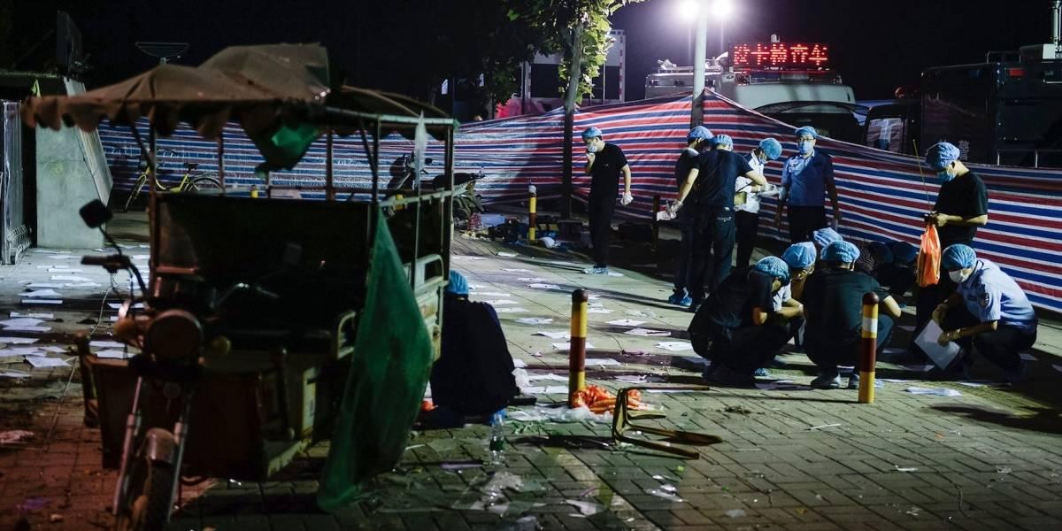 China: Identifican a sospechoso de explosión en kindergarten