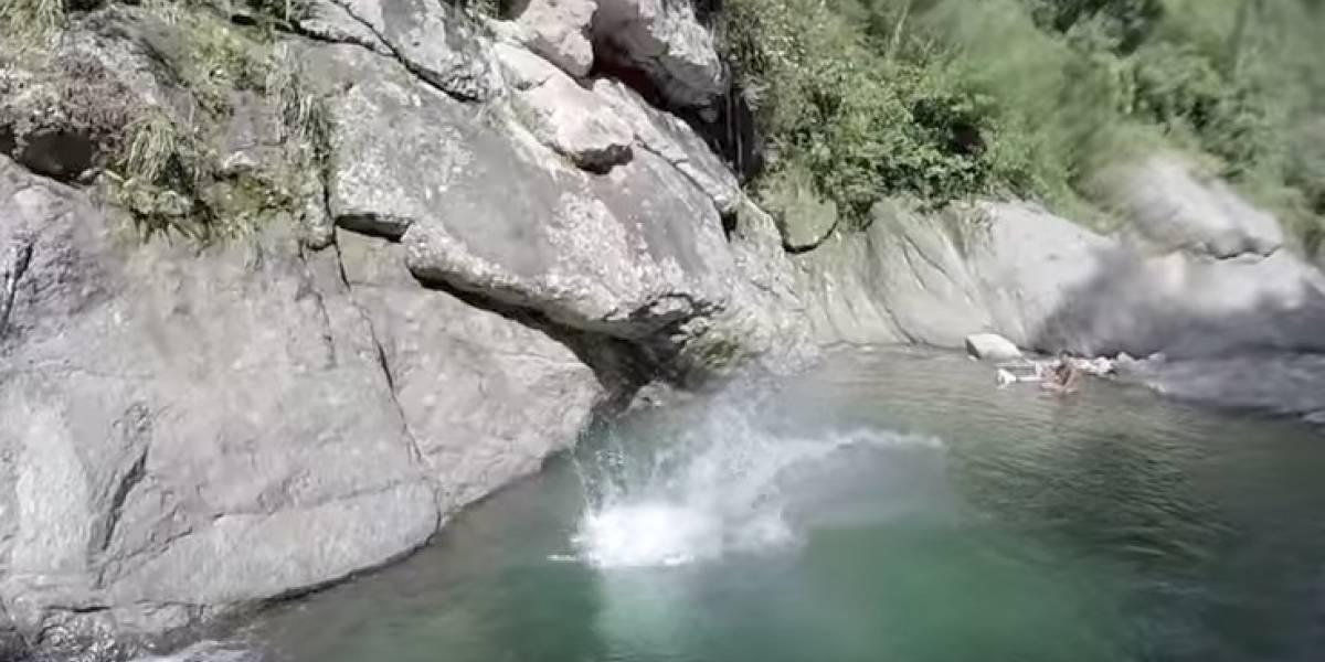 Rescatan jóvenes tras río crecido en Ponce
