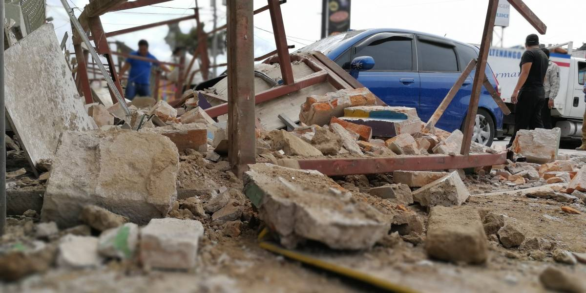 Más de 3 mil afectados por sismo que dejó cinco muertos en Guatemala