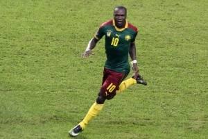 Vincent Aboubakar (Camerún): El delantero es otra de las figuras que tienen los Leones Indomables y actualmente lucha por un puesto en el Besiktas / imagen: AFP