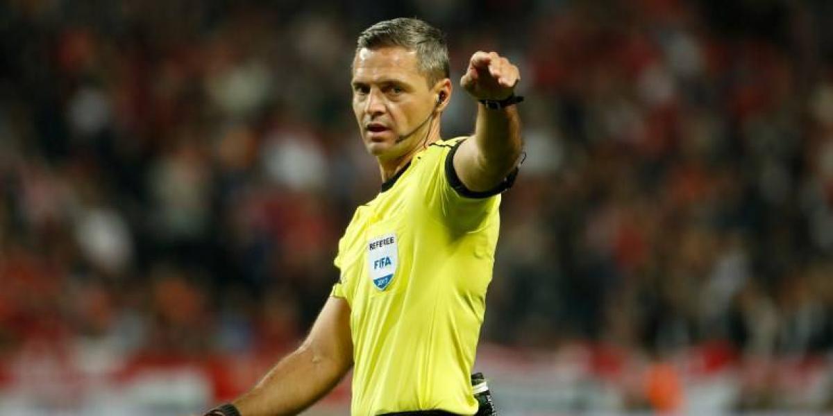 Juez de la final de la Europa League dirigirá debut de la Roja en la Confederaciones