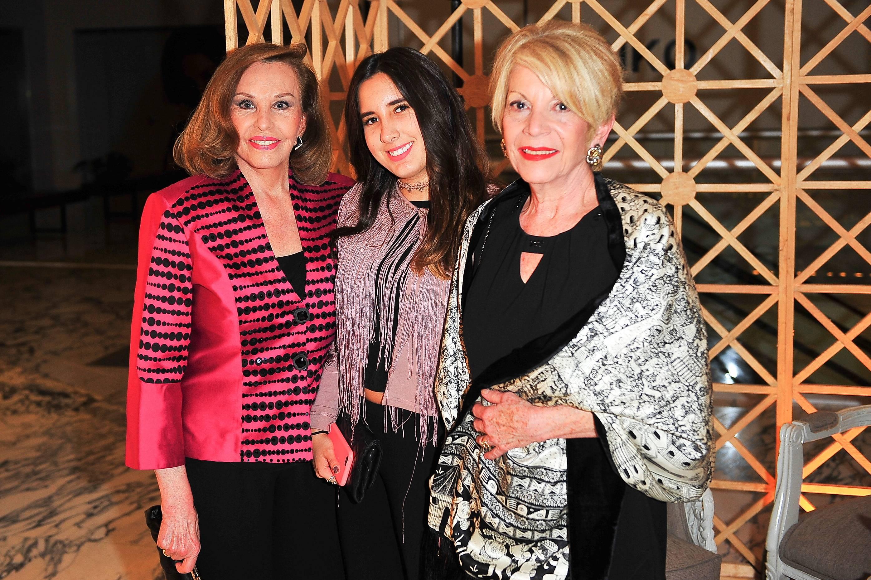 Kena Moreno, Marisol Mora y Odett de Anda JDS