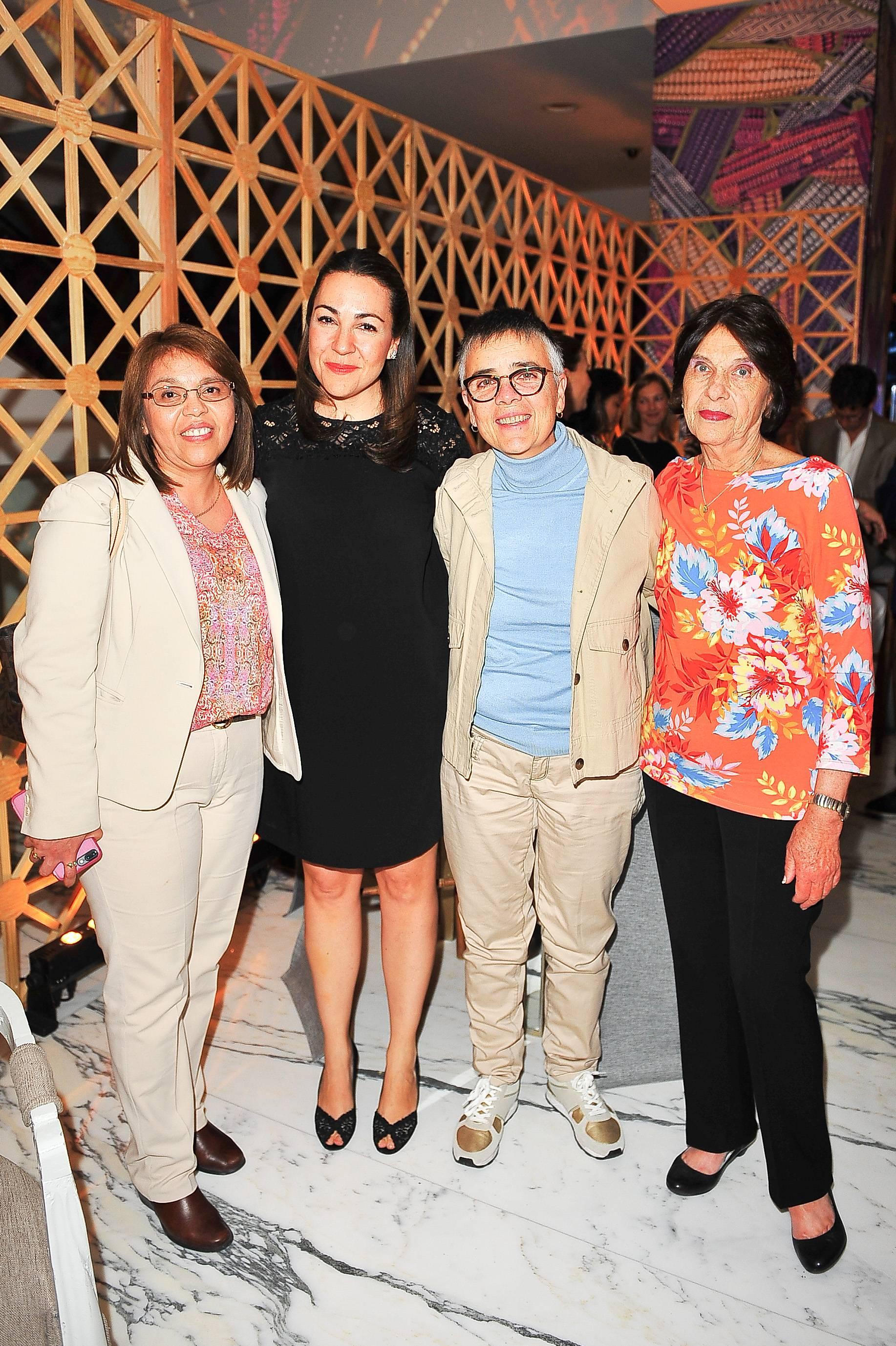 Ilian Ruiz Durán, Cristina Pineda, Mafer Suárez y Guadalupe Pliego JDS
