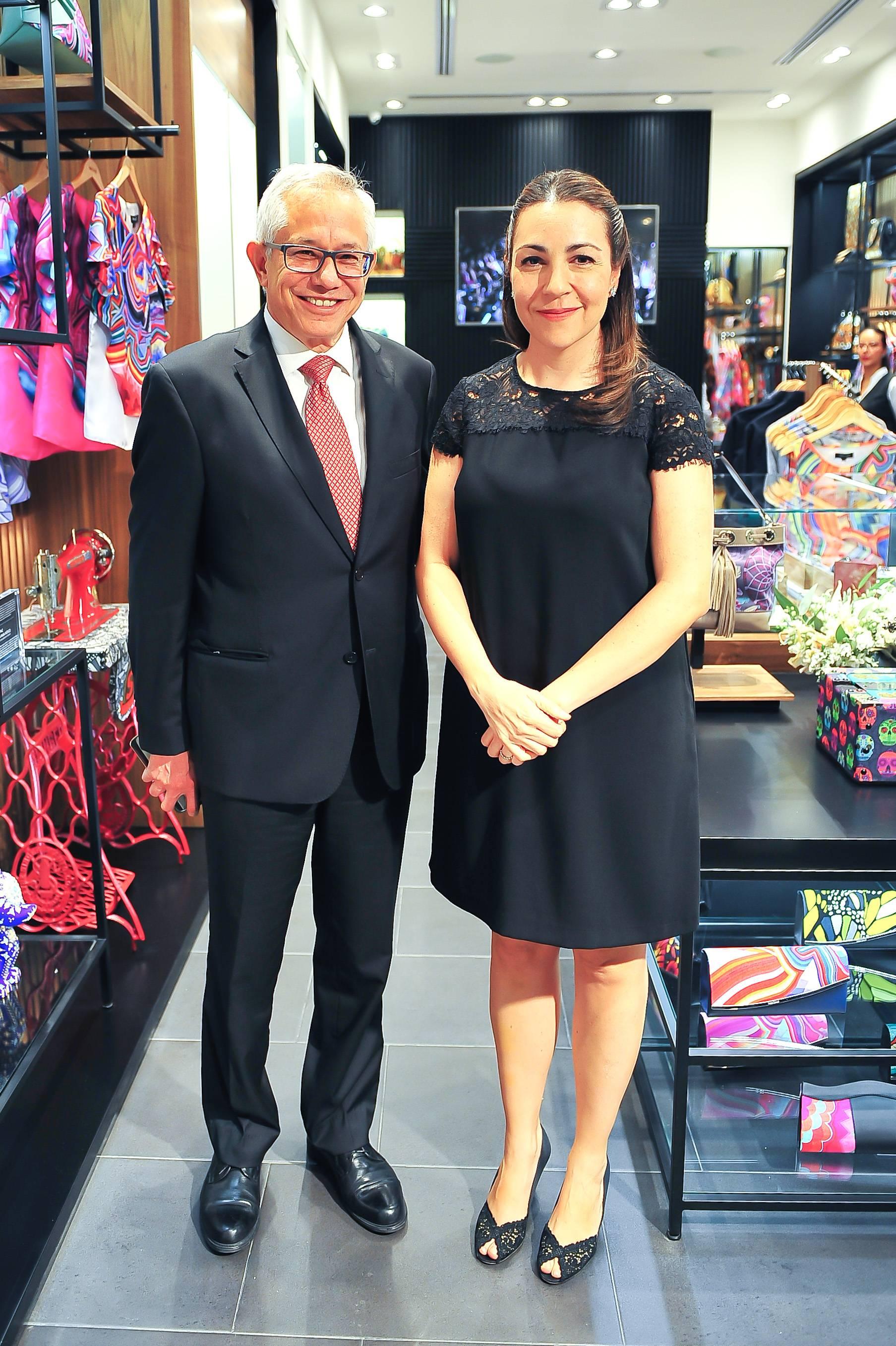 Jorge Gaviño y Cristina Pineda JDS