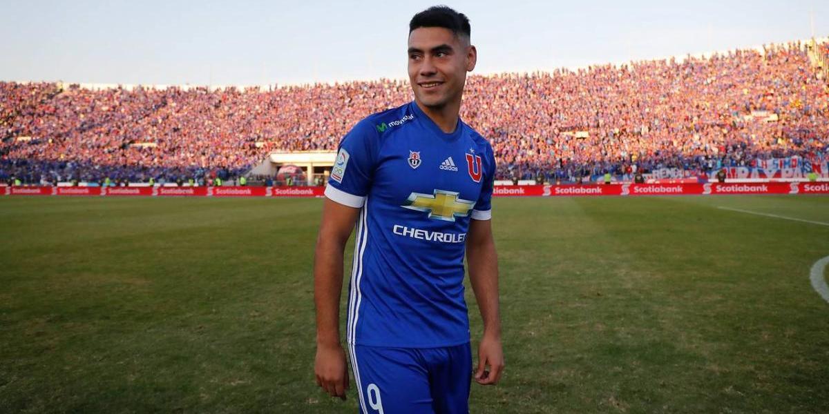 Felipe Mora deja Universidad de Chile y parte al Cruz Azul