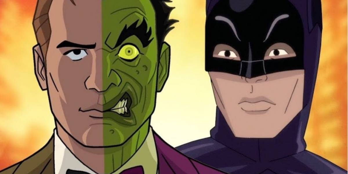 Adam West deja grabada su voz para la cinta animada Batman vs Two-Face