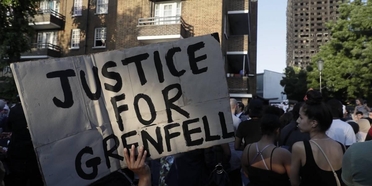 Incendio en Londres: sobrevivientes y familias reclaman justicia