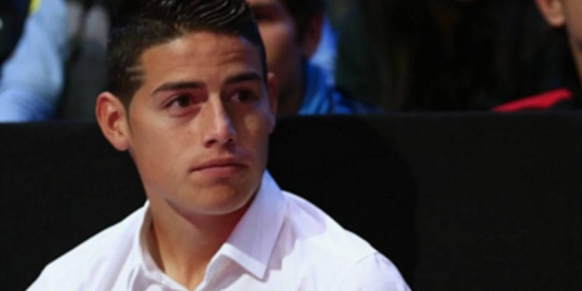 James Rodríguez volvió a cambiar de look