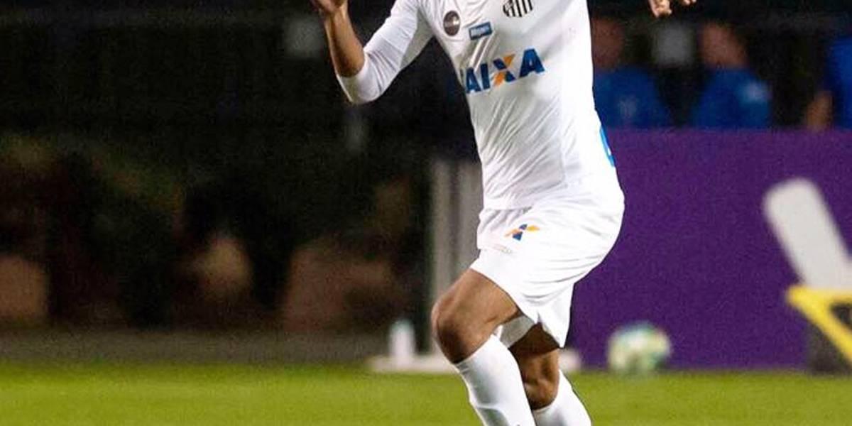Exame aponta lesão e David Braz deve desfalcar o Santos no domingo