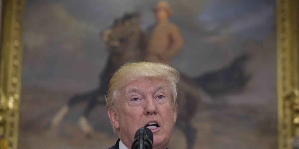 Trump confirma que está siendo investigado