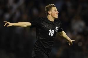 Chris Wood (Nueva Zelanda): Es la gran estrella de los oceánicos y su carta de gol. La ilusión de los All Whites se acrecienta luego de los 27 goles que hizo el delantero por el Leeds en la temporada pasada, que lo instalaron como goleador de la Champions
