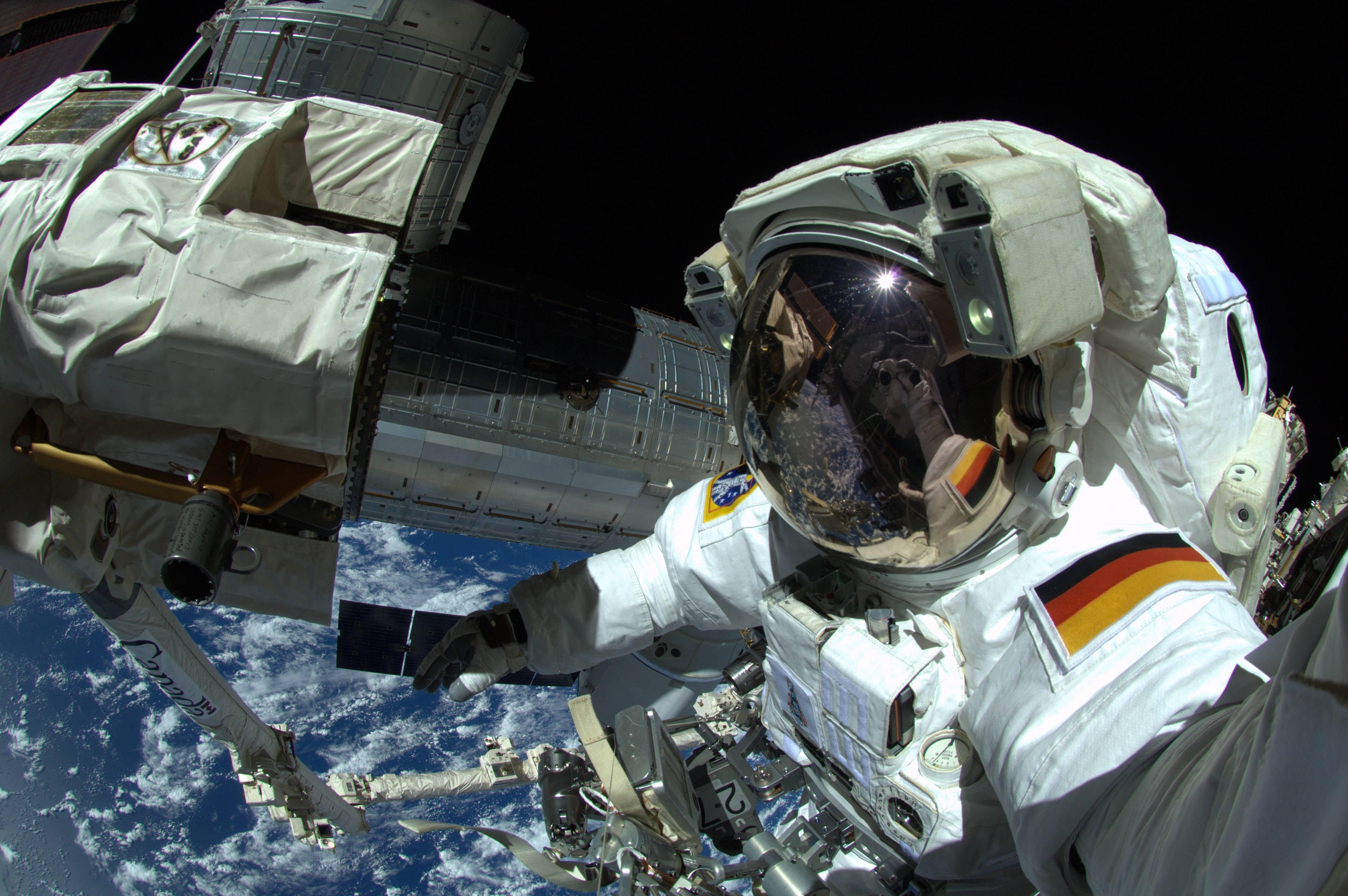 El astronauta alemán Alexander Gerst.