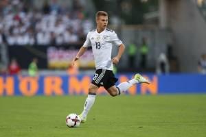Joshua Kimmich (Alemania): En una juvenil nómina germana, el defensor intentará ayudar a sus compañeros con la experiencia que ha ganado en Bayern Munich a sus cortos 22 años / imagen: Getty Images