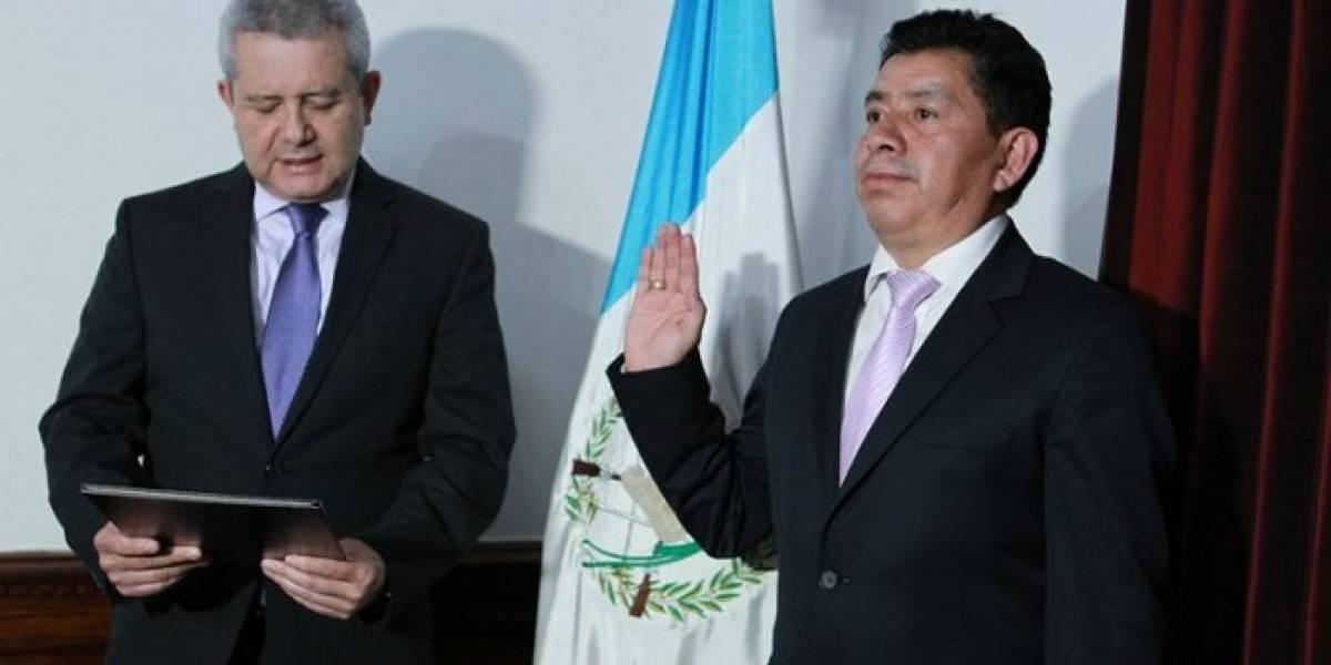 Renuncia gobernador de Quiché después de ser juramentado