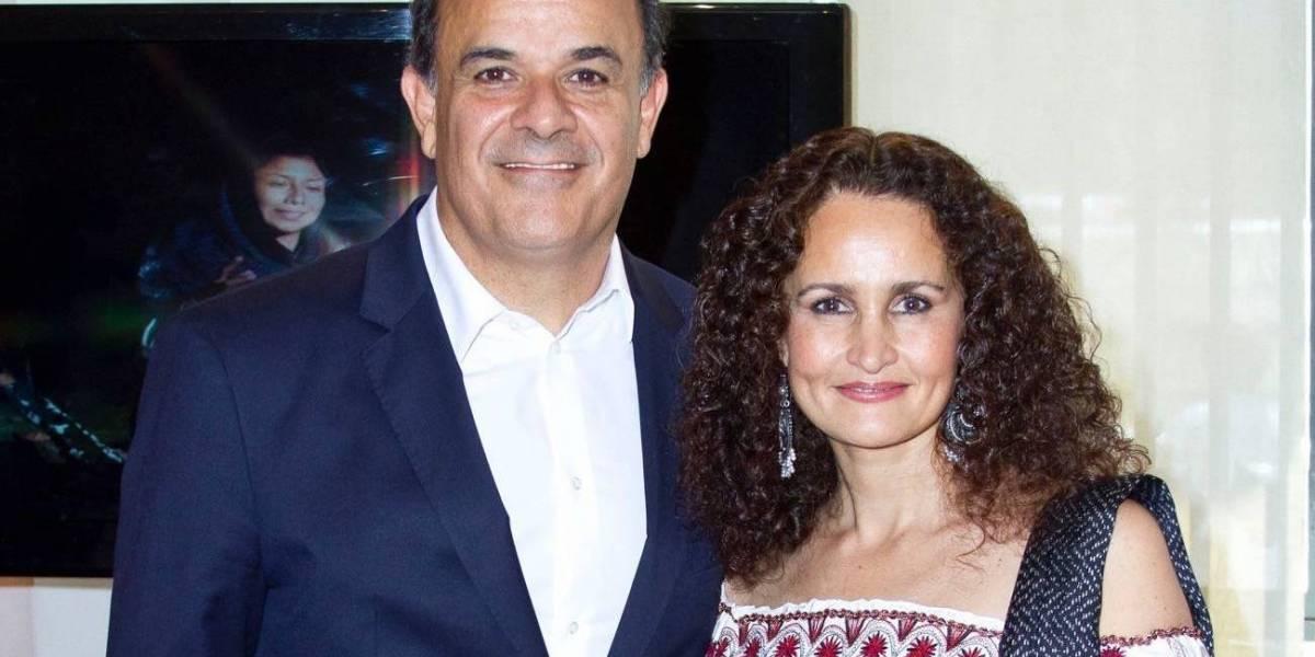 Fernando de la Mora y Susana Harp juntos en Bellas Artes