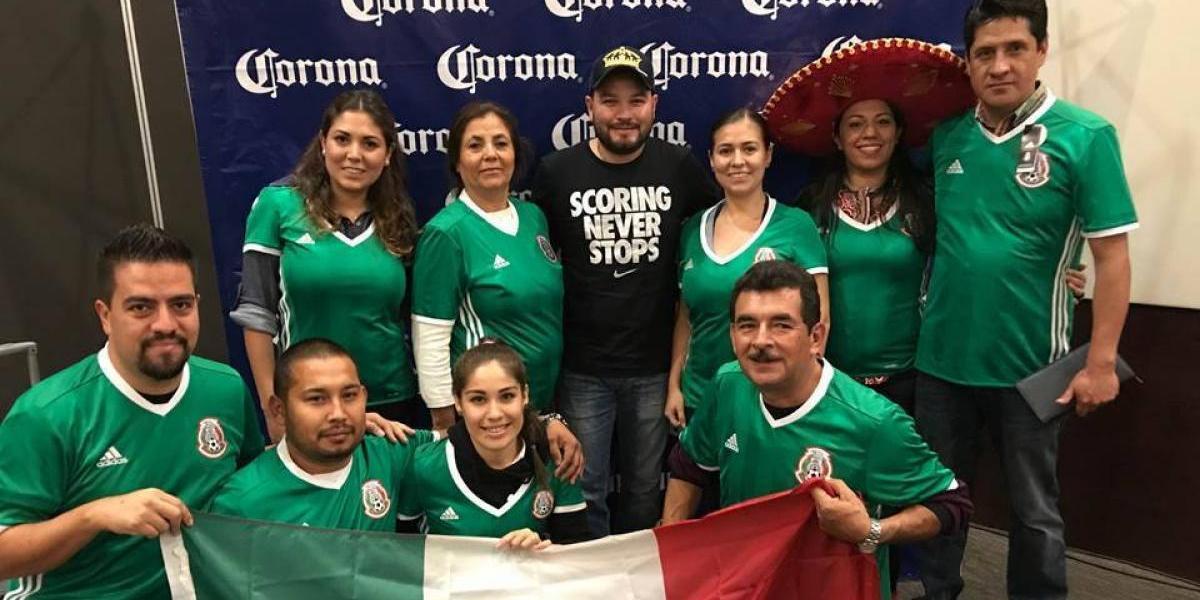 La afición mexicana comienza a invadir Rusia previo a la Confederaciones
