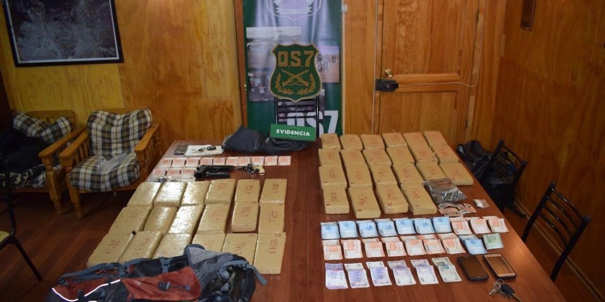 Carabineros detiene a la banda de narcotraficantes más austral del mundo