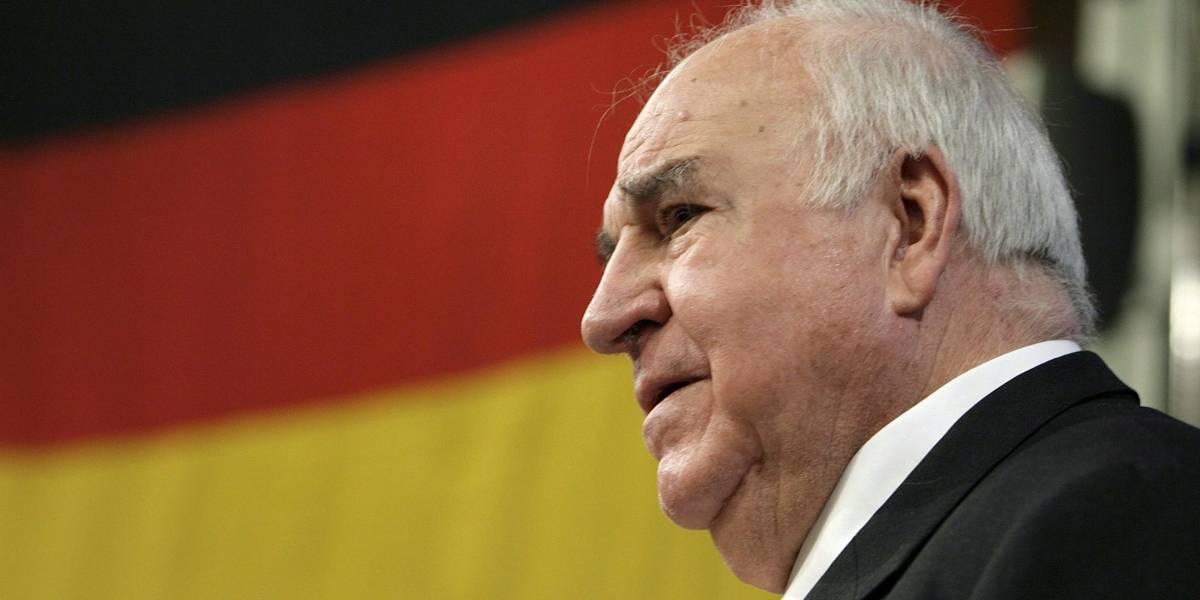 Helmut Kohl, identificado con la unidad de Alemania y de Europa