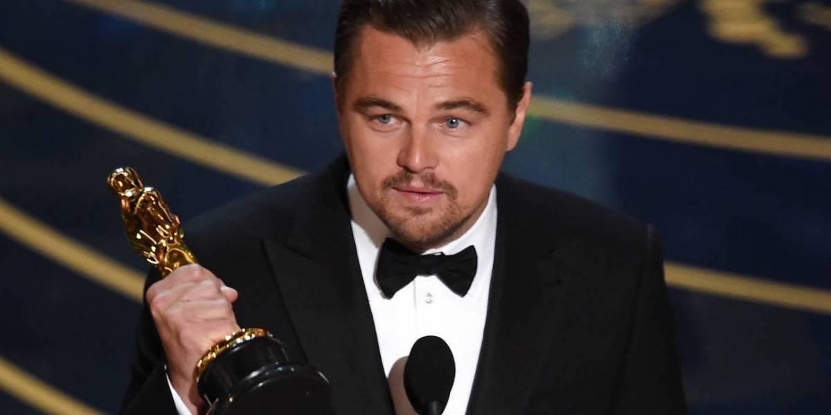 Leonardo DiCaprio regresa un Óscar