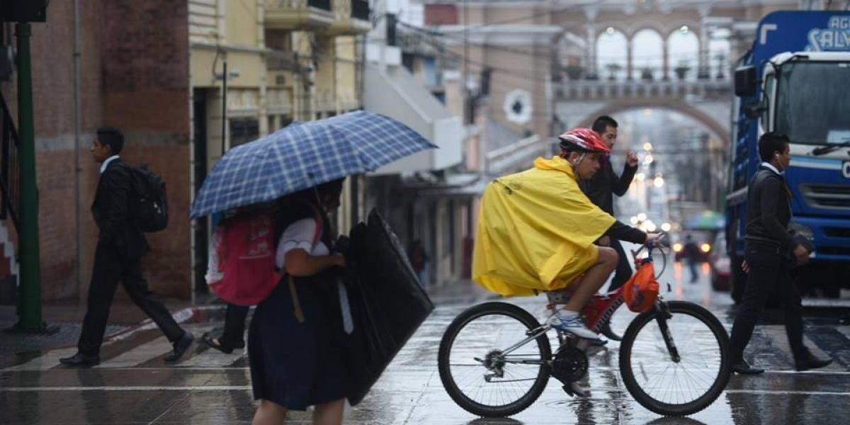 Lluvias se intensificarán a partir de este viernes