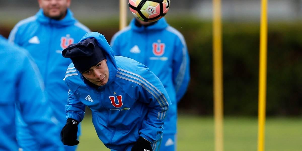 """San Lorenzo tienta a Matías Rodríguez: """"Estoy cómodo en la U, pero no descarto nada"""""""