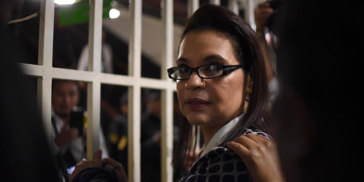 Exvicepresidenta Roxana Baldetti acciona para salir de la prisión