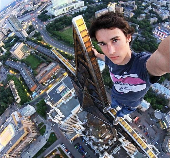 El ruso de las alturas.