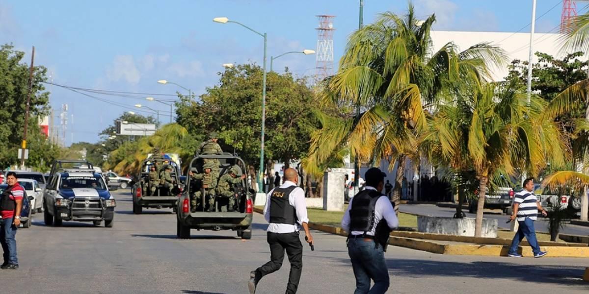 Tiroteo deja dos muertos en centro de Cancún