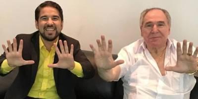 Abdala Bucaram encabeza marcha de seguidores por Guayaquil