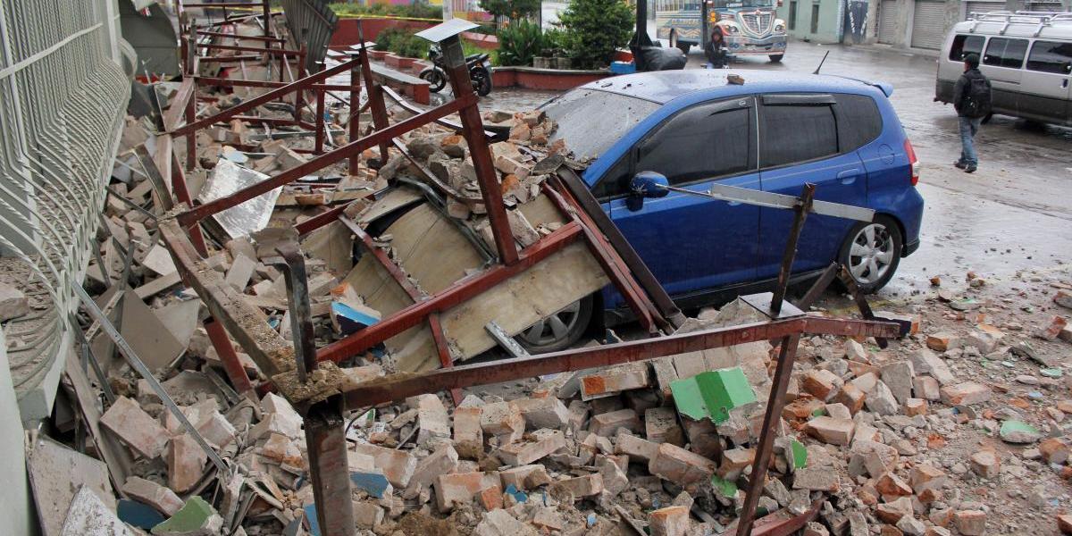 Cifra de personas afectadas por sismo supera los 7 mil, según Conred