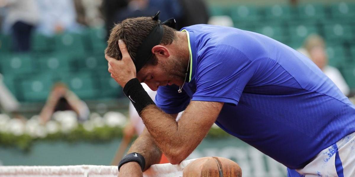 Del Potro se retira de Queen´s y peligra su participación en Wimbledon