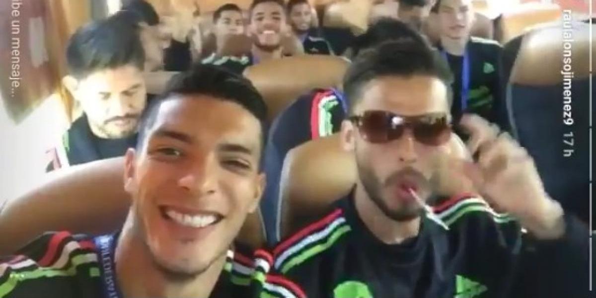 VIDEO: La polémica seña de Oribe Peralta en video del Tri