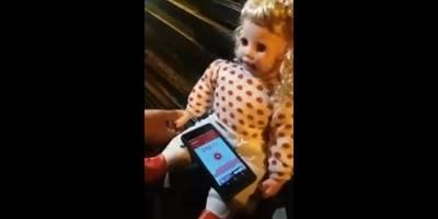 Videos de una muñeca sin pilas y poseída se hacen virales